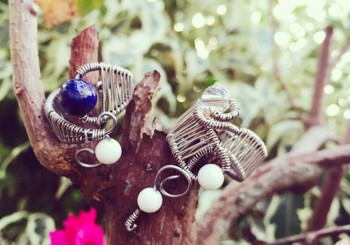 Feb 21 – Dreamcatcher & Wirework Ring with REIKARA