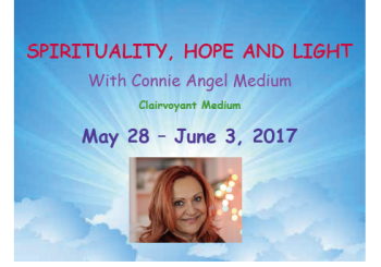 Connie Angel – (May 28 – June 3)