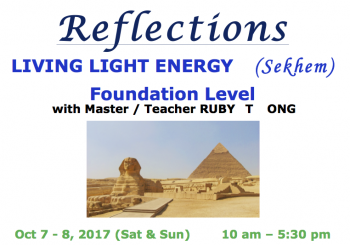 LIVING LIGHT ENERGY (Sekhem) Foundation Level