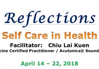 SELF CARE IN HEALTH with Chiu Lai Kuen