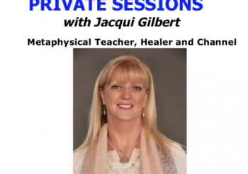PRIVATE SESSIONS with Jacqui Gilbert
